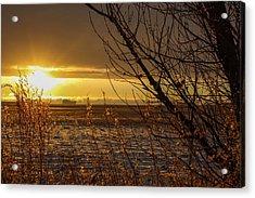 North Dakota Sunset Acrylic Print