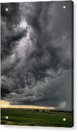North Dakota Thunderstorm Acrylic Print