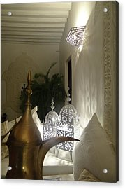 North - Eastern African Home - Lanterns And Jug Acrylic Print