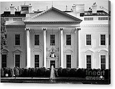 north facade from pennsylvania avenue the white house Washington DC USA Acrylic Print
