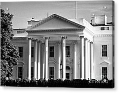 north facade of the White House Washington DC USA Acrylic Print