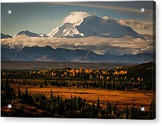 North Face Of Denali Acrylic Print