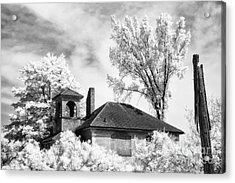 North Grove Firehouse Acrylic Print