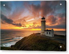 Acrylic Print featuring the photograph North Head Dreaming by Ryan Manuel