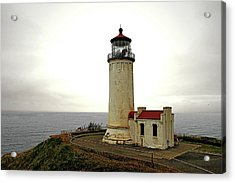 North Head Lighthouse - Graveyard Of The Pacific - Ilwaco Wa Acrylic Print by Christine Till