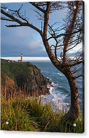 North Head Lighthouse 2 Acrylic Print by Greg Vaughn