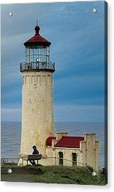 Acrylic Print featuring the photograph North Head Lighthouse by E Faithe Lester