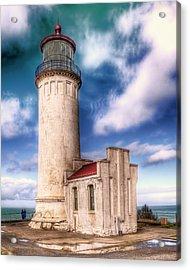 North Head Lighthouse - Washington Coast Acrylic Print
