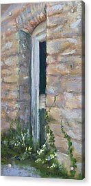 North Hill Alley Door Acrylic Print