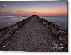 North Jetty Acrylic Print