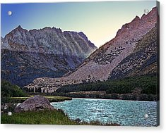 North Lake Sunset Acrylic Print