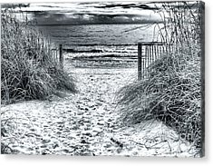 North Myrtle Beach Entry Acrylic Print