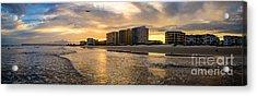 North Myrtle Beach Sunset Acrylic Print