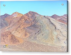 Acrylic Print featuring the photograph North Of Avawatz Mountain by Jim Thompson