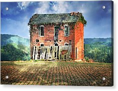 North Of Clarksville Acrylic Print by Marty Koch