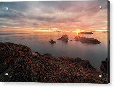North Puget Sound Sunset Acrylic Print