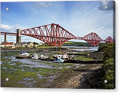 Acrylic Print featuring the photograph North Queensferry by Jeremy Lavender Photography