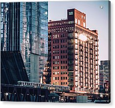 North Riverside Acrylic Print