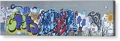 Acrylic Print featuring the digital art North Shore Graffitti by Erika Swartzkopf
