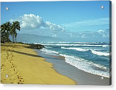 Acrylic Print featuring the photograph North Shore Morning by Lars Lentz