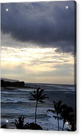 North Shore Morning Acrylic Print by Thea Wolff