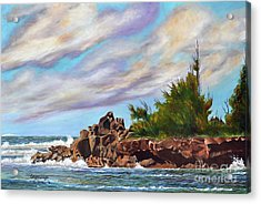 North Shore Oahu Acrylic Print