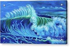 North Shore Wave Hawaii Jenny Lee Discount Acrylic Print