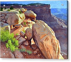 North Towards Moab Acrylic Print
