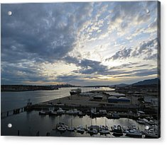 North Vancouver And Vancouver Acrylic Print