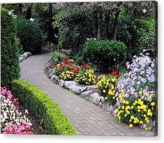 North Vancouver Garden Acrylic Print by Will Borden