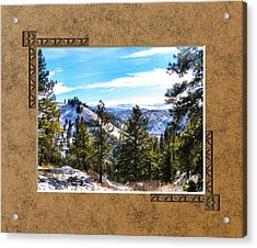 Acrylic Print featuring the photograph North View by Susan Kinney