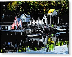 North West Cove Ns. Acrylic Print