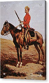 North West Mounted Police Of Canada Acrylic Print by Frederic Remington
