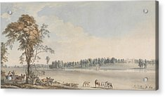 North West View Of Wakefield Lodge In Whittlebury Forest, Northamptonshire Acrylic Print by Paul Sandby
