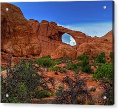 North Window Portal Acrylic Print
