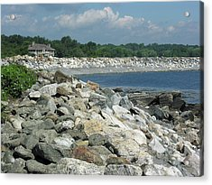 Northeast Us, Atlantic Coast, Rye Nh Acrylic Print