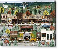 Northern Exposure Acrylic Print by Jennifer Lake