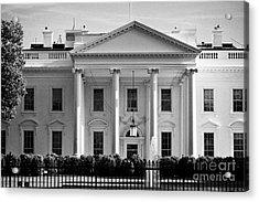 northern facade of the white house Washington DC USA Acrylic Print