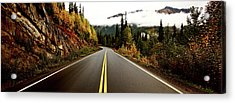 Northern Highway Yukon Acrylic Print by Mark Duffy