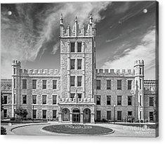 Northern Illinois University Altgeld Hall Acrylic Print by University Icons