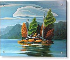 Northern Island Acrylic Print