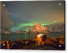 Spectacular Night In Lofoten 3 Acrylic Print