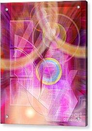 Northern Lights Acrylic Print by John Robert Beck
