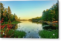 Northern Ontario Lake Acrylic Print