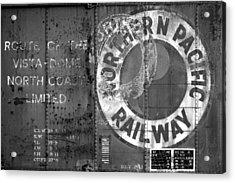 Northern Pacific Railway Past Acrylic Print