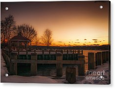Northport Sunset Acrylic Print