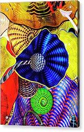 Northwest Glass 2 Acrylic Print by Greg Sigrist