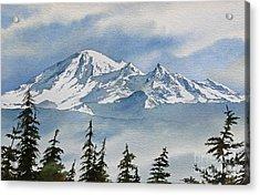 Northwest Mountain Acrylic Print by James Williamson
