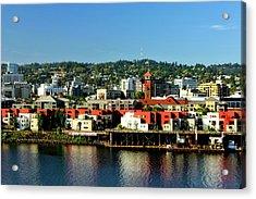Northwest Portland Acrylic Print by Albert Seger