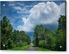 Northwoods Road Trip Acrylic Print by Steve Gadomski
